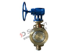 Bronze wafer Butterfly Valve